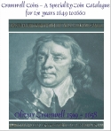 Link to Cromwell Coins -  a catalogue for coins from the Commonwealth of England period.